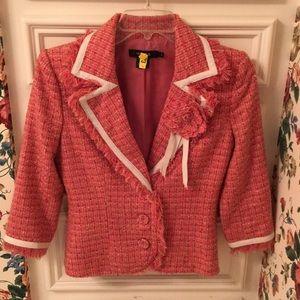 Arden B Tweed Blazer Sz 2
